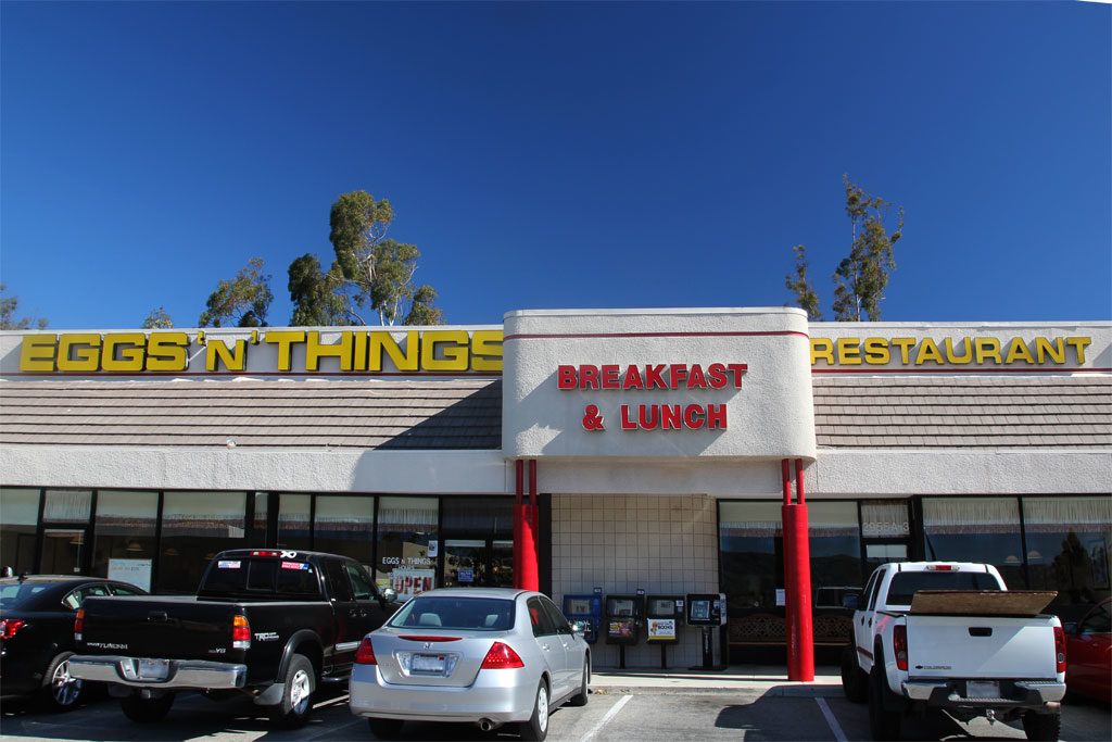 Simi valley restaurant front